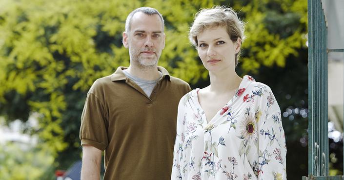 Ο Κώστας Παπακωνσταντίνου κι η Αγγελική Μαρίνου μιλούν για το «Γάμο» στο deBόp