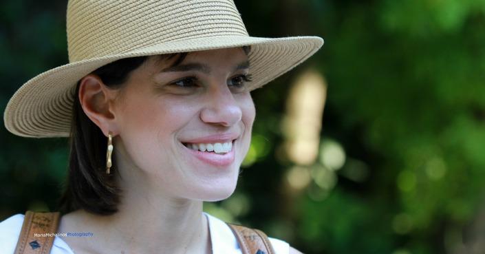 Κάναμε βόλτα με τη Μόνικα στον Εθνικό Κήπο και μιλήσαμε για όλα όσα «ανθίζουν»