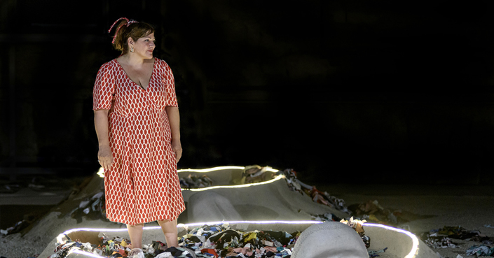 """Είδαμε: """"Λυσιστράτη"""" του Αριστοφάνη από το Εθνικό Θέατρο σε σκηνοθεσία Οδ. Παπασπηλιόπουλου / ... διακοπή λόγω διαφωνίας!"""