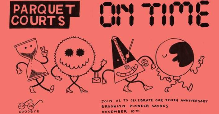PARQUET COURTS | 10th Anniversary Livestream και νέο single!