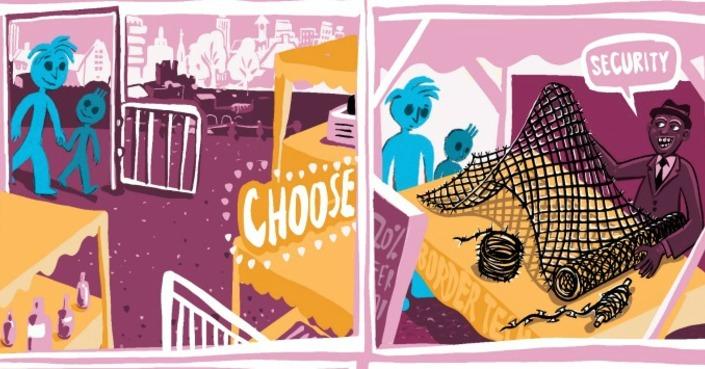 Η Athens Comics Library στηρίζει το Choose Love με ένα μοναδικό κόμικ #ChooseLove #GivingTuesday