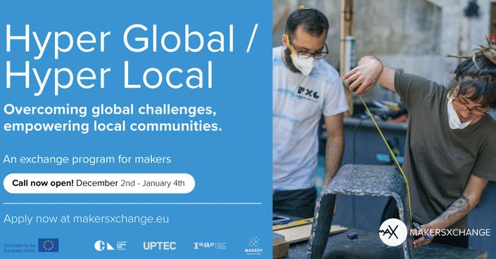"Hyper Global / Hyper Local | Ανοιχτή πρόσκληση εκδήλωσης ενδιαφέροντος για ""makers"""