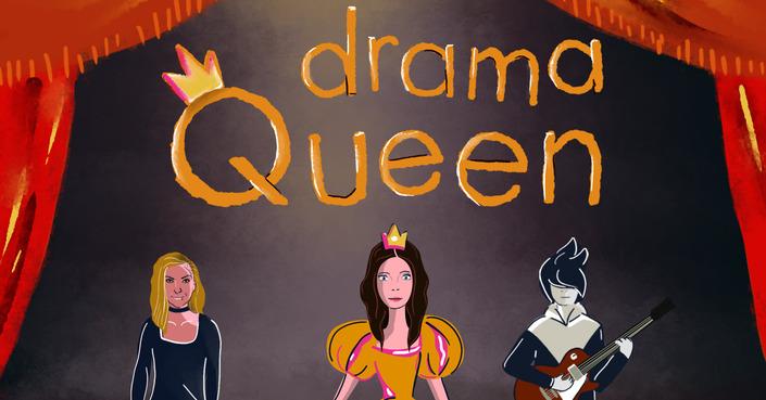 """Drama Queen"" :: H συνεργασία της Τζώρτζιας Κεφαλά με τον Αφανή Ήρωα"