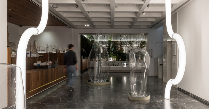 ΑΡΧΙΠΕΛΑΓΟΣ | Εγκατάσταση του στούντιο OBJECTS OF COMMON INTEREST στο Cycladic Café