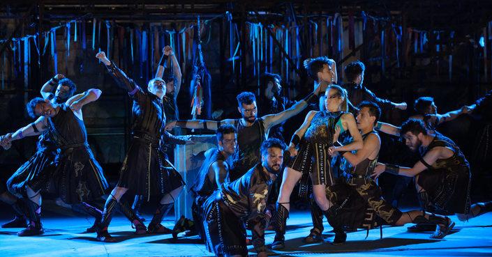 """Είδαμε: """"Ιππείς"""" του Αριστοφάνη σε σκηνοθεσία Κων. Ρήγου"""