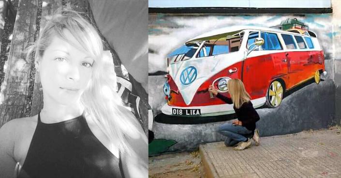 Μία συζήτηση με τη Λία Κουτελιέρη λίγο πριν το graffiti performance της στο Διεθνές Φεστιβάλ Κρουστών Ρεθύμνου