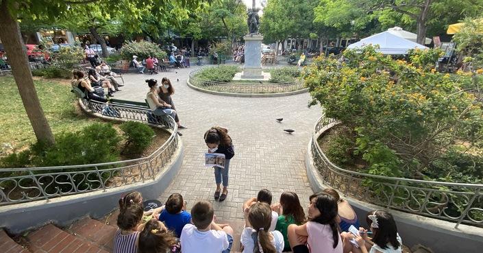 Ποιος είναι ο σύγχρονος Αθηναίος; | Ένα έργο σύγχρονης τέχνης και ταυτόχρονα χώρος αναφοράς για τη γειτονιά