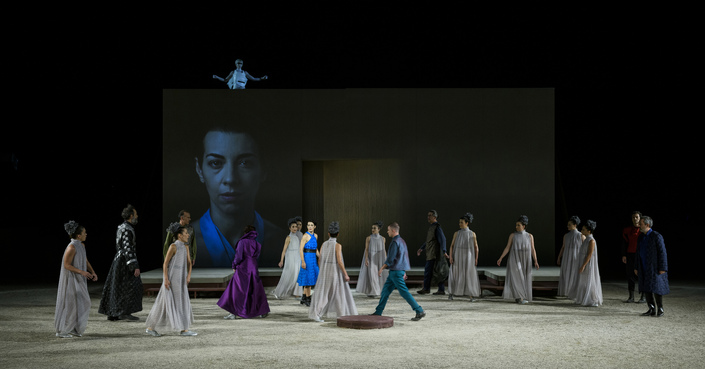 """Είδαμε: """"Φοίνισσες"""" του Ευριπίδη σε σκηνοθεσία Γ. Μόσχου"""