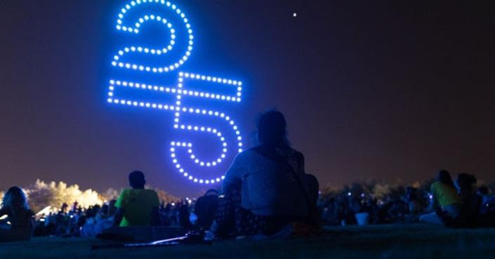 Το πρώτο Drones Show στην Ελλάδα για τον εορτασμό των 25 χρόνων του Ιδρύματος Σταύρος Νιάρχος (ΙΣΝ)