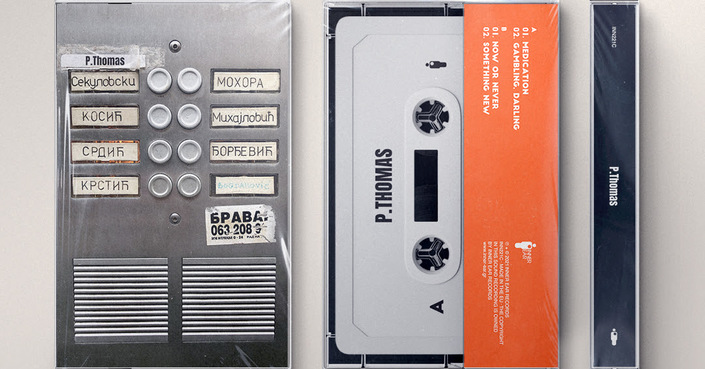 P.Thomas «P.Thomas EP»  Κυκλοφορεί σε κασέτα και Digital EP