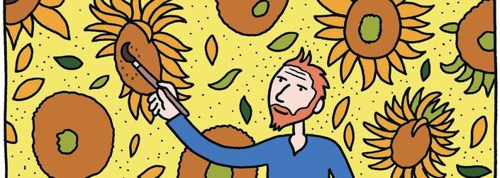 Η ζωή του Vincent van Gogh σε κόμικ, Εκδόσεις Αιώρα